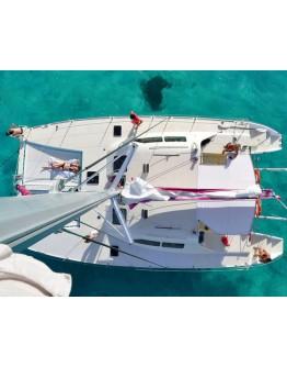 Sailing trip Grand cul de sac marin
