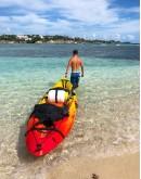 Kayak, islet of Le Gosier