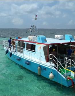 Grand Cul de Sac Marin (Motor Catamaran)