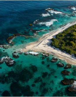 Petite Terre Island by motor boat