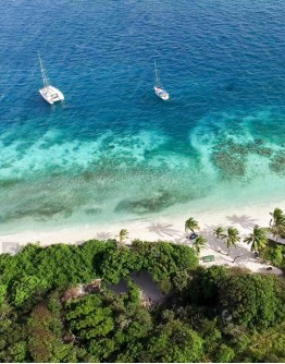 Discovery island of Saint Lucia SOUTH